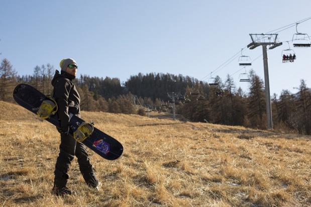 Certaines stations de montagne françaises ont longtemps attendu la neige cet hiver - Photo : Studio Mike-Fotolia.com