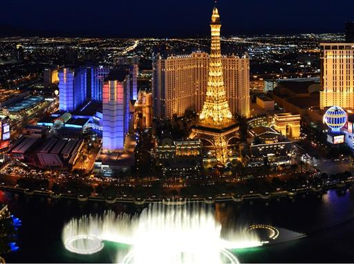 Las Vegas Strip panorama - Photo Lvcva.com