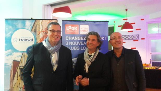 L'équipe de Look Voyages et Transat France. DR LAC