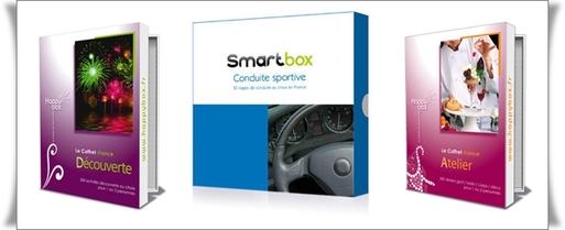 Smartbox®, l'un des leaders de la vente de coffrets-cadeaux en France, annonce avoir vendu 800 000 coffrets cadeaux dans toute l'Europe au premier semestre 2008