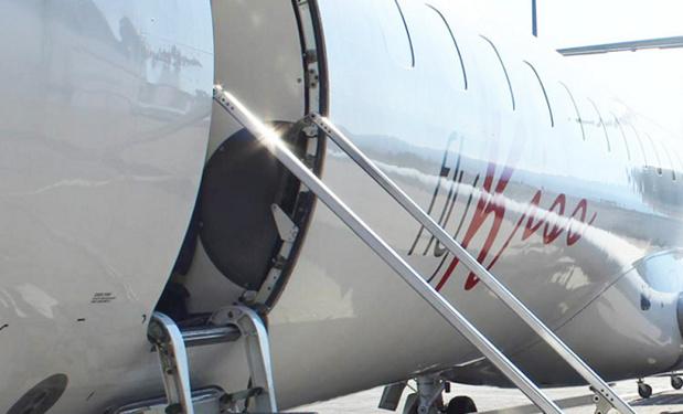 FlyKiss se propose de prendre la suite de Hop ! Air France pour las desserte de Lyon au départ de Clermont-Ferrand - Photo : FlyKiss