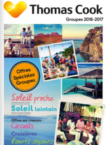 La brochure Groupes de Thomas Cook - DR Brochuresenligne.com