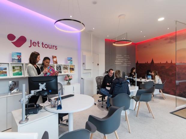 La nouvelle agence pilote Jet tours de Courbevoie, dans les Hauts-de-Seine © DR Jet tours