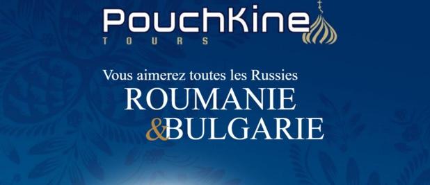Pouchkine Tours publie une brochure dédiée à la Roumanie et à la Bulgarie