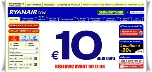 Ryanair : low fare, low savoir-vivre...