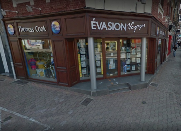 L'agence Evasion Voyages de Cambrai - DR Google Street View