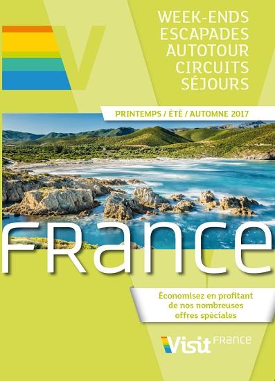 La brochure consacrée à La France de Visit Europe - DR
