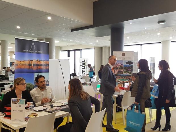 Le MICE Place Méditerranée est un salon à taille humaine, au format convivial, et qui permet des rencontres B2B pour faire du « vrai » business - DR : A.B.