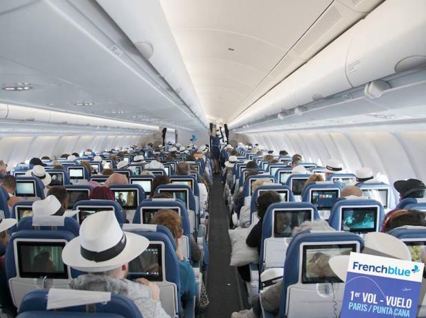 Du 10 février au 31 mars, French Blue proposera à ses passagers des vols Paris Orly - Punta Cana un accès gratuit à une plate-forme e-commerce : SKYdeals.shop. (c) French Blue