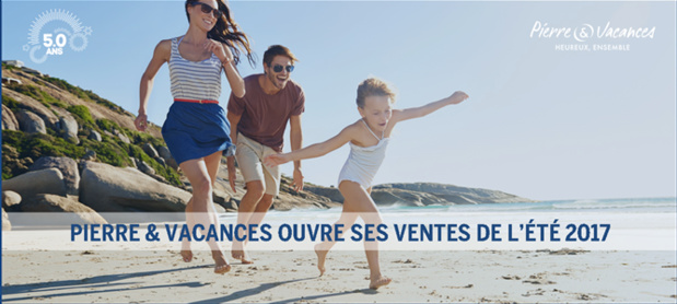 Les ventes de Pierre & Vacances sont ouvertes pour l'été 2017 - DR : Pierre & Vacances