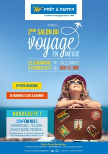 Prêt-à-Partir prépare la 2e édition du Salon du Voyage en Meuse