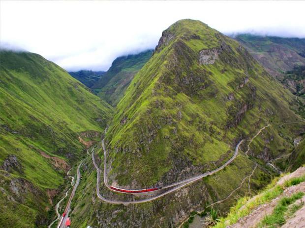Au programme d'un tour du monde, des trains mythiques. Ici, El Crucero en Equateur - DR : CdV