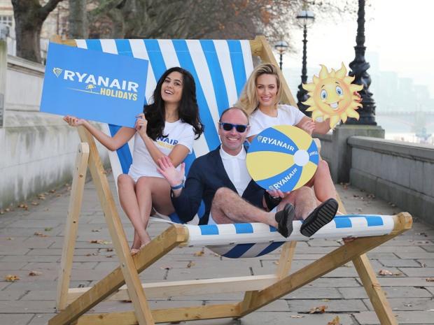 """""""Donc, nous attendrons que Ryanair propose à ses millions de passagers des forfaits vacances à prix Ryanair, sans pour autant y laisser la moindre plume"""" - Photo : Ryanair"""