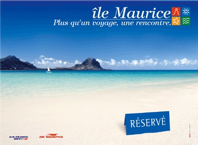 L'île Maurice s'affiche dans toutes les grandes villes de France