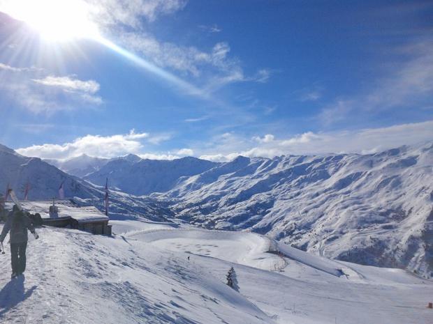 Février 2017 est un temps fort du tourisme montagne, avec des taux d'occupation prévisionnels 71% et 84% chaque semaine - @Aurélie Resch