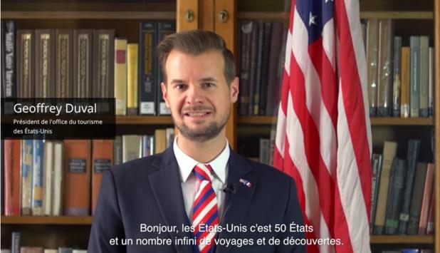 Geoffrey Duval, président de l'office de tourisme des Etats-Unis en France - DR