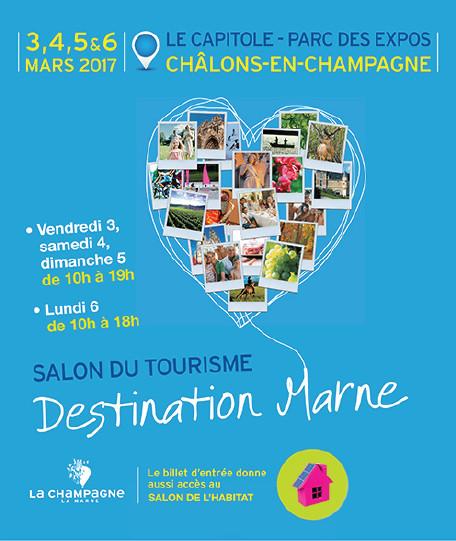 Destination Marne est un salon organisé tous les deux ans - DR : Destination Marne