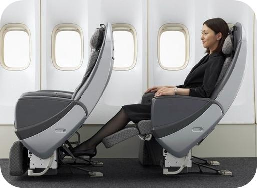 Japan airlines persiste et signe avec la premium economy for Air france interieur classe economique