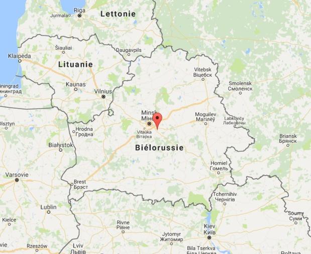 La Biélorussie a décidé de dispenser de visa les voyageurs de 80 pays pour des séjours de moins de 5 jours - Google Maps