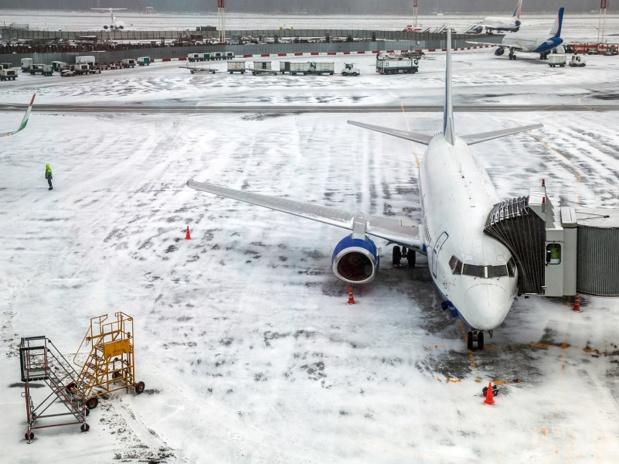 La neige perturbe le trafic aérien dans le nord-est des USA - Photo : maxoidos-Fotolia.com