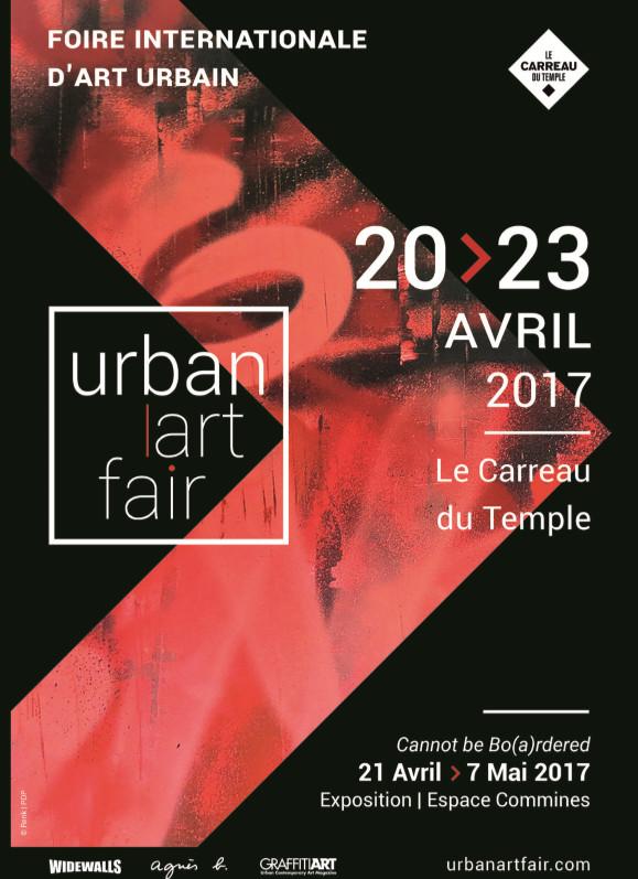 Paris accueille du 20 au 23 avril, la 2ème édition d'Urban Art Fair