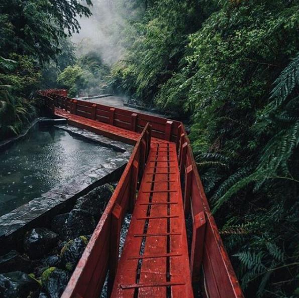 Le Chili attire de plus en plus de touristes internationaux - Photo : Termas Geométricas-ChileTravel-Instagram