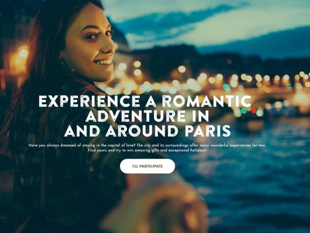 """""""Mon Paris romantique"""" met en avant quatre types de séjours (séjour d'exception, aventure insolite, escapade sexy et virée culturelle) pour profiter de Paris en couple - DR : Mon Paris romantique"""