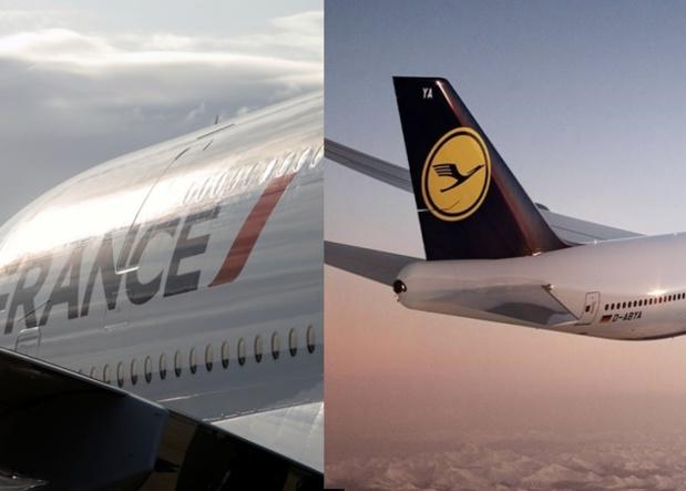 Un pilote chez Air France vole 585 heures par an contre 840 pour un pilote de Lufthansa. Quant au salaire moyen brut, chez Air France on constate un 14 000€ mensuel contre 9 165€ mensuels chez Lufthansa ! On peut comprendre que les Allemands soient un peu envieux de leurs potes français - DR