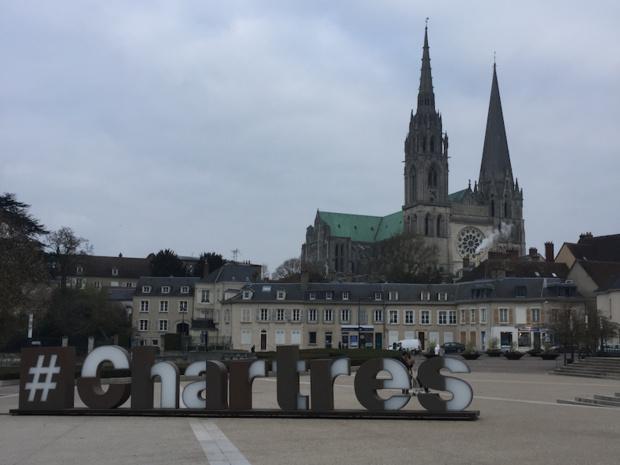 La cathédrale Notre-Dame de Chartres, qui attirent les groupes japonais depuis une dizaine d'année. © DR : PG Tourmag
