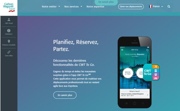 CWT souhaite adopter une stratégie tournée vers le digital et passer à plus de 55% de taux online dans le monde et plus de 60% en France. - DR
