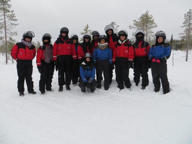Le TO Premium Travel / La Française des Circuits a convié 10 agents de voyages à venir découvrir SA Laponie finlandaise du 28 au 31 Janvier 2017 - Photo Premium