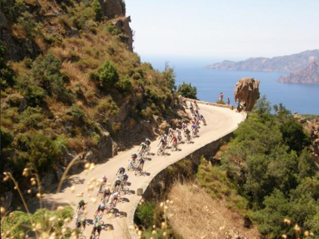 La Corse sera dotée, dès avril, d'un réseau de vélos électriques en libre service © DR : Cycling-Corsica