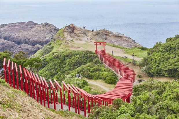 Le sanctuaire Motonosumiinari-jinja / Préfecture de Yamaguchi - Photo JNTO