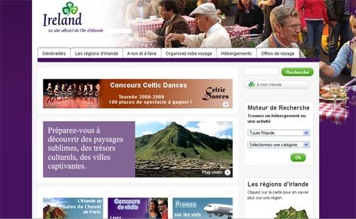 La destination Irlande maintient son effort de promotion en France en 2009