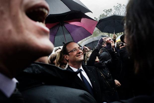 François Hollande est l'invité de Disneyland Paris pour le 25e anniversaire de l'ouverture du parc d'attractions - Photo : Facebook
