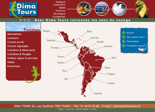 Production 2009/2010 : Dima Tours mise sur la complémentarité d'Internet