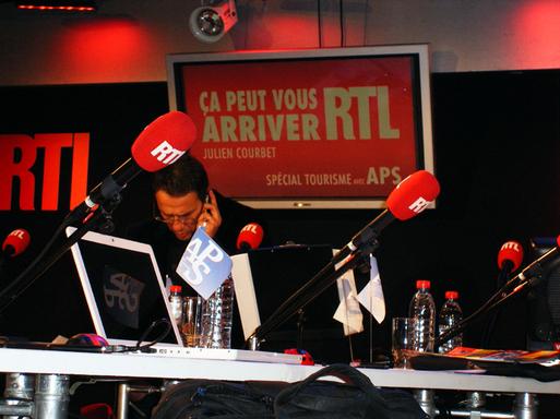 L'APS sur RTL avec Julien Courbet