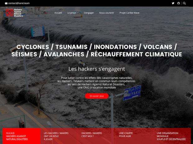 HAND mobilise des moyens numériques simples et accessibles afin de prévenir et secourir des populations isolées, coupées de toute information en cas de catastrophe majeure. - DR