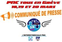 Air France : les syndicats de PNC appellent à la grève du 18 au 20 mars 2017