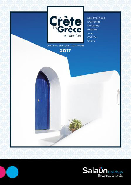 Salaün Holidays édite sa brochure spéciale Grèce et ses îles
