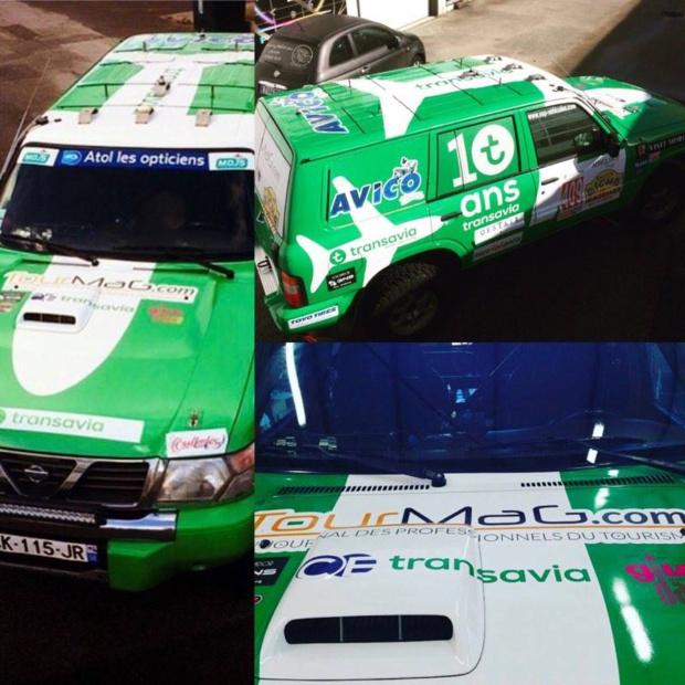 TourMaG.com, aux côtés de Transavia et d'Avico, soutient l'équipage composé d'Armelle  et Caroline - DR