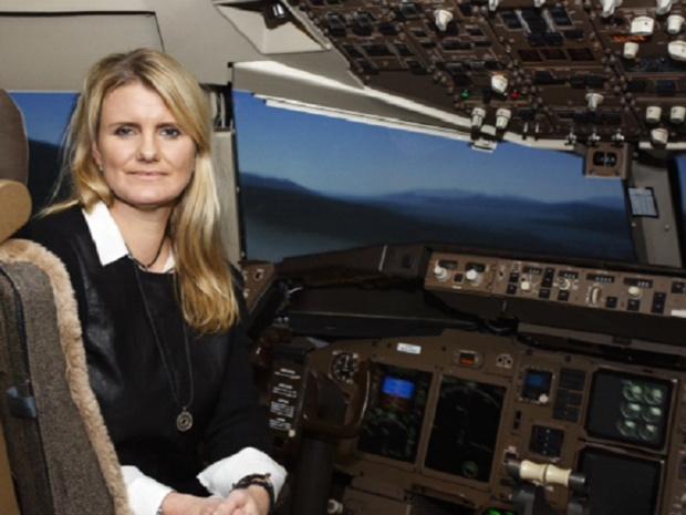 Linda Gunnarsdottir est commandante de bord chez Icelandair - Photo : Icelandair