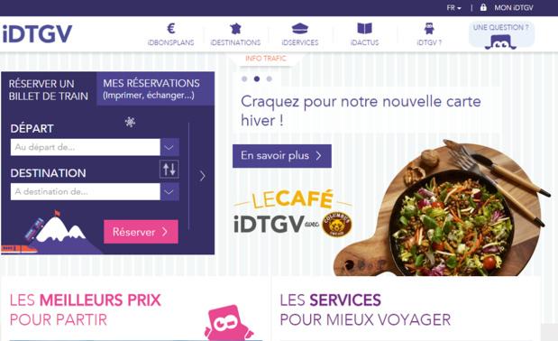 Contrairement à ce qui a été écrit, la SNCF assure qu'elle n'a pas l'intention de mettre fin aux activités d'iDTGV - Capture d'écran