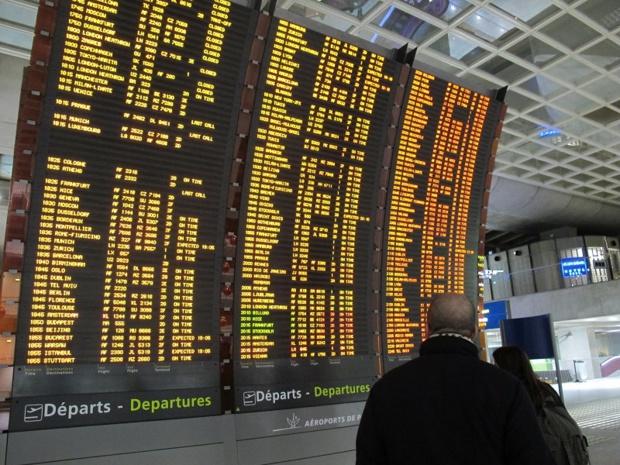 Des dizaines de vols sont annulés mardi 7 mars 2017 - DR : A.B.