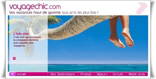 VoyageChic.com : le site de Karim Loukil a été liquidé
