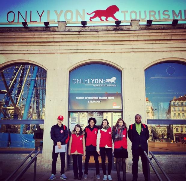 ONLYLON Tourisme a lancé le recrutement de sa 7ème promotion de Lyon City Helpers - Photo ONLYLON Tourisme