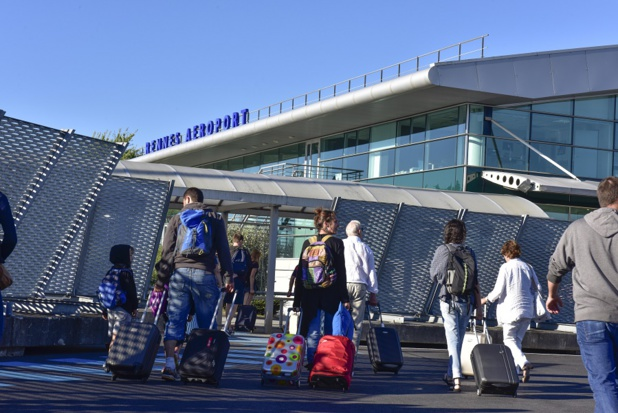 L'offre de sièges sera en hausse de 12,7 % à l'aéroport de Rennes pendant l'été 2017 - Photo : Vinci Airports