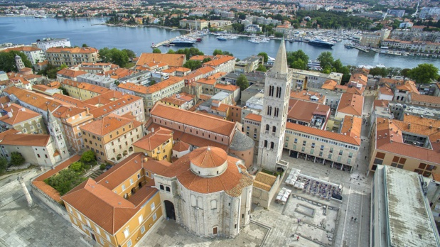 Zadar est un haut-lieu du tourisme en Croatie - Photo : OT de Croatie
