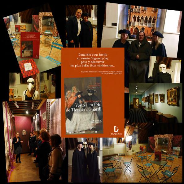Kuoni France a récompensé ses meilleurs vendeurs Donatello avec une visite du musée Cognacq-Jay à Paris - DR : Kuoni France