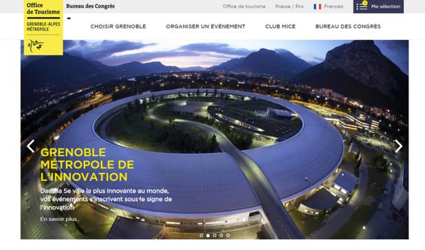Grenoble : le bureau des congrès modernise son site internet